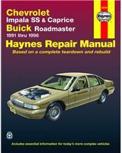 Chevrolet Impala SS / Caprice/Buick Roadmaster 1991 - 1996