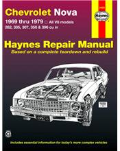 Chevrolet Nova 1969 - 1979 Haynes Owners Service & Repair Manual