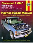 Chevrolet & GMC Pick-ups 2WD & 4WD 1988 - 2000
