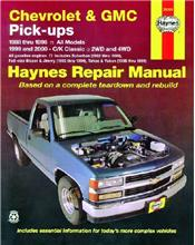 Chevrolet & GMC Pick-ups 2WD & 4WD (Petrol) 1988 - 2000