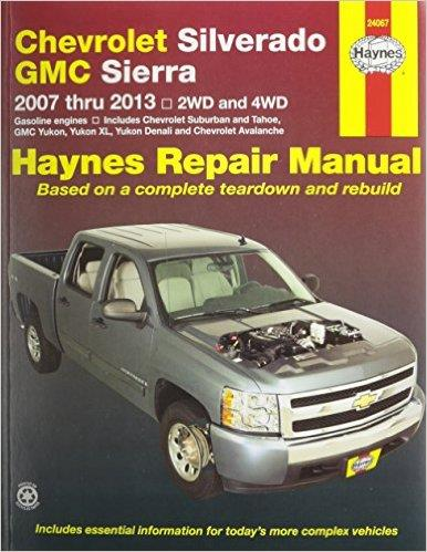 Chevrolet Silverado, GMC Sierra 2WD and 4WD 2007 - 2013 Haynes Repair Manual - Front Cover
