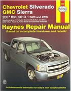 Chevrolet Silverado, GMC Sierra 2WD and 4WD 2007 - 2013 Haynes Repair Manual