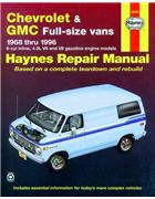 Chevrolet & GMC Vans 1968 - 1996 Haynes Owners Service & Repair Manual