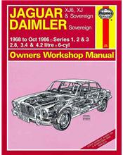 Jaguar XJ6 XJ & Sovereign Daimler Sovereign (Petrol) 1968 - 1986