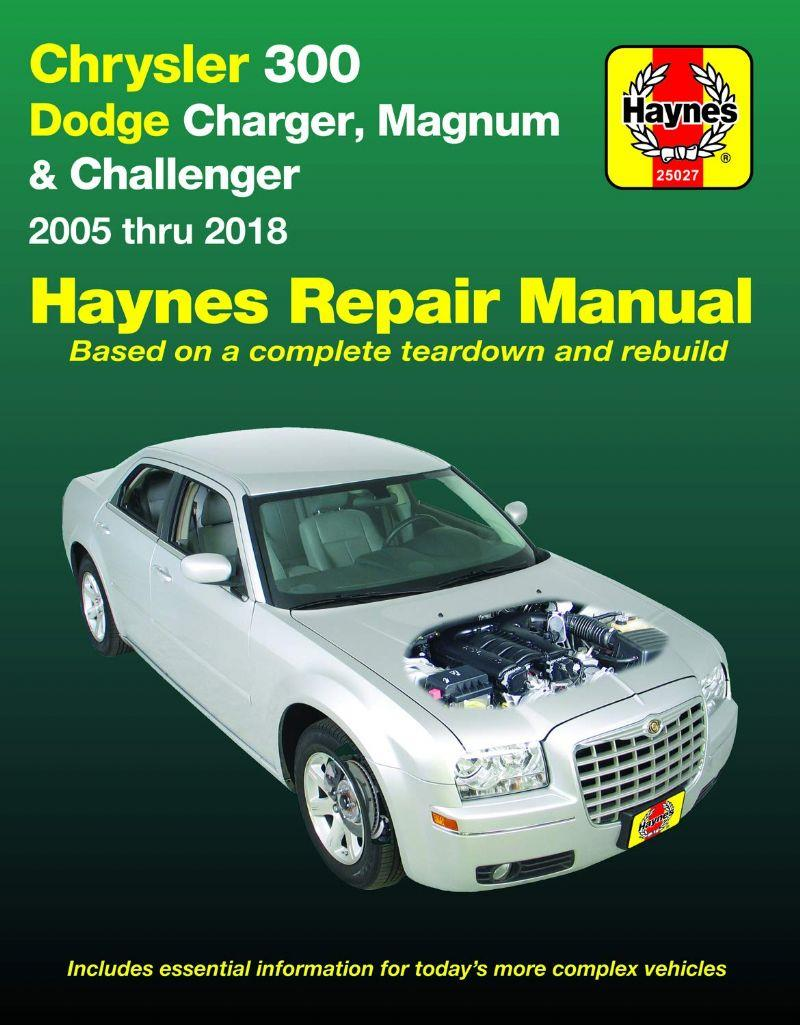 Chrysler 300 Dodge Charger & Magnum 2005 - 2010 Haynes Repair Manual - Front Cover