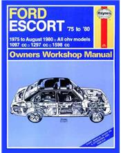 Ford Escort 1975 - 1980 Haynes Owners Service & Repair Manual