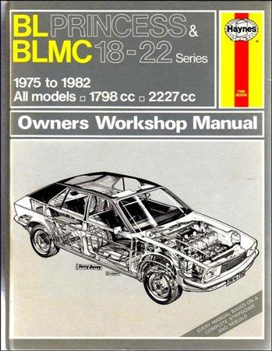 BL Princess & BLMC (18-22 Series) 1975 - 1982 - Front Cover