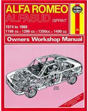 Alfa Romeo Alfasud / Sprint 1974 - 1988 Haynes Owners Service & Repair Manual