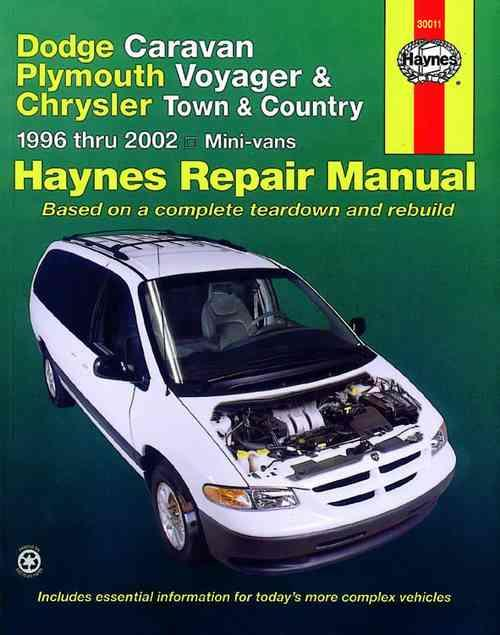 Dodge Caravan, Plymouth Voyager & Chrysler Town & Country 1996 - 2002 - Front Cover