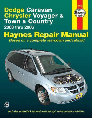 Dodge Caravan, Chrysler Voyager, Chrysler Town & Country 2003 - 2006 - Front Cover