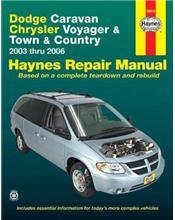 Dodge Caravan, Chrysler Voyager, Chrysler Town & Country 2003 - 2006