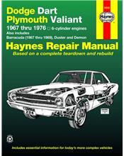 Dodge Dart & Plymouth Valiant & Barracuda (Petrol) 1967 - 1969