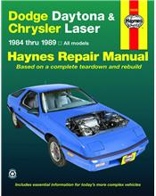Dodge Daytona & Chrysler Laser 1984 - 1989