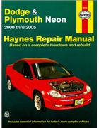 Dodge Neon, Plymouth Neon Repair Manual 2000-2005