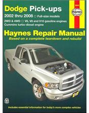 Dodge Pick-Ups (Petrol) 2002 - 2008 Haynes Owners Service & Repair Manual