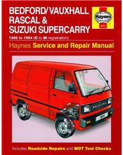Bedford Vauxhall Rascal & Suzuki Supercarry 1986 - 1994