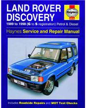 Land Rover Discovery Petrol & Diesel 1989 - 1998
