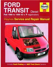 Ford Transit Diesel 1986 - 1999 Haynes Owners Service & Repair Manual