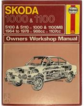 Skoda 1000 and 1100 1964 - 1978 Haynes Owners Service & Repair Manual