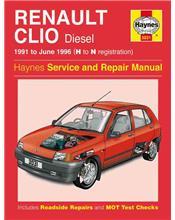 Renault Clio Diesel 1991 - 1996 Haynes Owners Service & Repair Manual