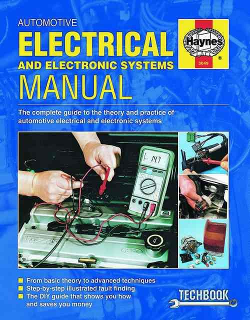 Automotive Electrical and Electronic Systems : Haynes Techbook - Front Cover