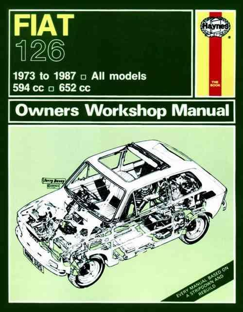 Fiat 126 1973 - 1987 Haynes Owners Service & Repair Manual - Front Cover