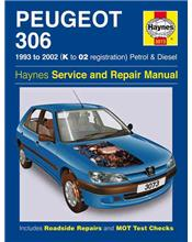 Peugeot 306 (Petrol & Diesel) 1993 - 2002 Haynes Owners Service & Repair Manual