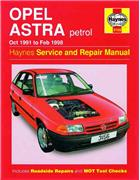 Holden (Vauxhall/Opel) Astra Petrol 1991 - 1998