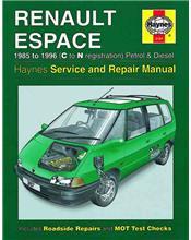 Renault Espace Petrol & Diesel 1985 - 1996 Haynes Owners Service & Repair Manual