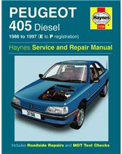 Peugeot 405 (Diesel) 1988 - 1997 Haynes Owners Service & Repair Manual