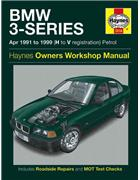 BMW 3-Series Petrol 1991 - 1999 Haynes Owners Service & Repair Manual