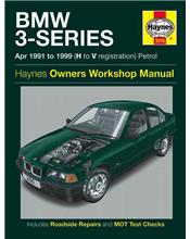 BMW 3-Series (Petrol) 1991 - 1999 Haynes Owners Service & Repair Manual