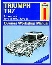 Triumph TR7 1975 - 1982 Haynes Owners Service & Repair Manual