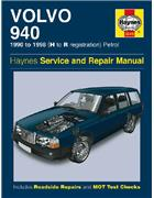 Volvo 940 Petrol 1990 - 1998 Haynes Owners Service & Repair Manual