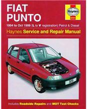 Fiat Punto Petrol & Diesel 1994 - 1999 Haynes Owners Service & Repair Manual