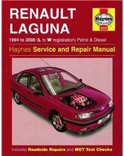 Renault Laguna Petrol & Diesel 1994 - 2000 Haynes Owners Service & Repair Manual