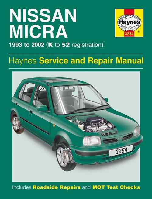 Nissan Micra 1993 - 2002 Haynes Owners Service & Repair Manual