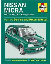 Nissan Micra 1993 - 2002 Haynes Owners Service & Repair Manual