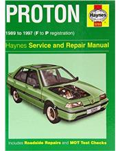 Proton Sedan & Hatch 1989-1997 Haynes Repair Manual
