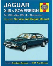 Jaguar XJ6 & Sovereign (Petrol) 1986 -1994 Haynes Owners Service & Repair Manual
