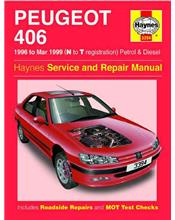 Peugeot 406 (Petrol & Diesel) 1996 - 1999 Haynes Owners Service & Repair Manual