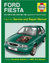 Ford Fiesta Petrol and Diesel 1995 - 2002 Haynes Owners Service & Repair Manual