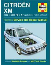 Citroen XM Petrol & Diesel 1989 - 2000 Haynes Owners Service & Repair Manual