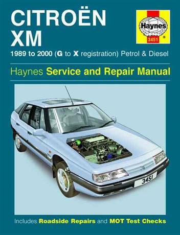 Citroen XM Petrol & sel 1989 - 2000 Haynes Owners Service ... on