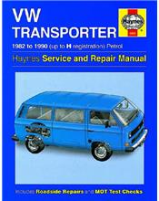 VW Volkswagen Transporter (water-cooled) Petrol 1982 - 1990