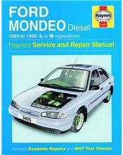 Ford Mondeo Diesel 1993 - 1996 Haynes Owners Service & Repair Manual