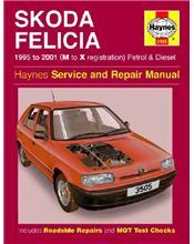 Skoda Felicia Petrol & Diesel 1995 - 2001 Haynes Owners Service & Repair Manual