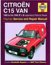 Citroen C15 Van Petrol and Diesel 1989 - 1998