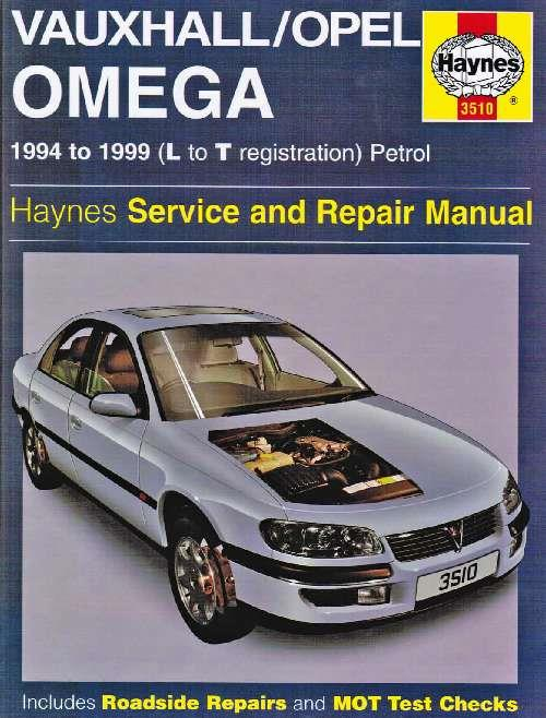 Vauxhall/Opel Omega Petrol 1994 - 1999 Owners Service & Repair Manual - Front Cover