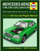 Mercedes Benz C Class (W202) Petrol & Diesel 1993 - 2000 - Front Cover